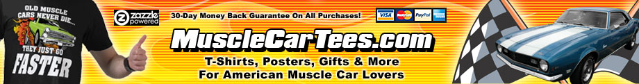 Muscle Car T-Shirts & Gift