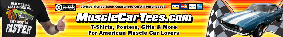 Muscle Car T-Shirts & Gifts